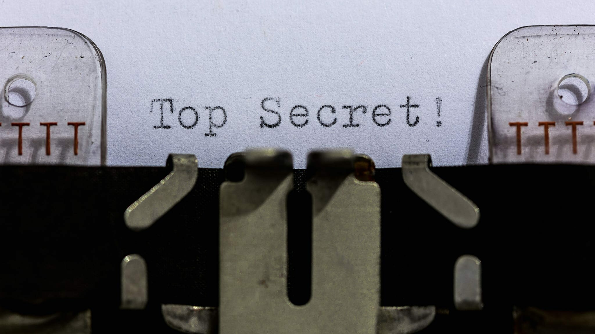 Top Secret; Autor: Dennis Skley; Źródło: flickr.com